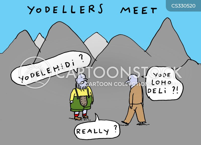 yodellers cartoon