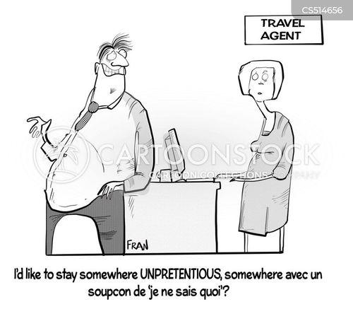 unpretentious cartoon