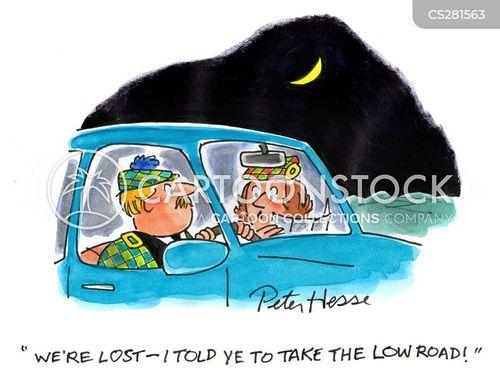 highlander cartoon