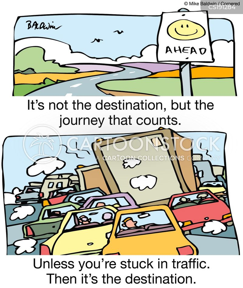 destinations cartoon