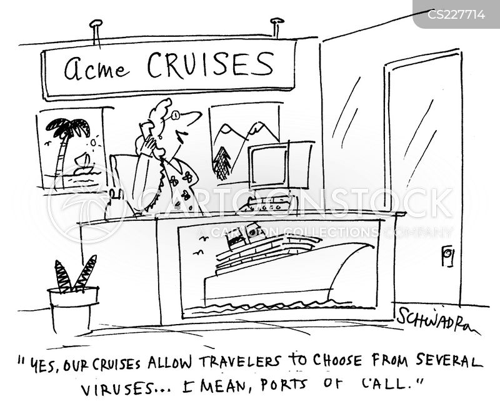 tropical diseases cartoon
