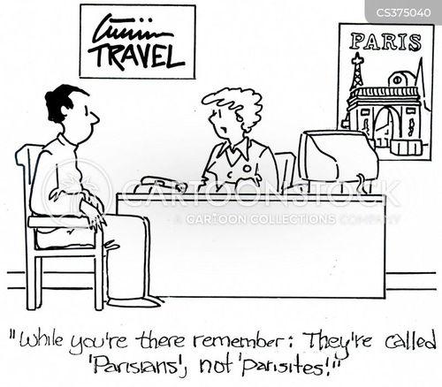 parisian cartoon
