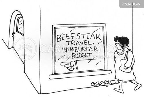 beefsteak cartoon