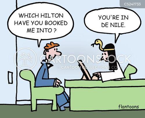 egyptian vacation cartoon