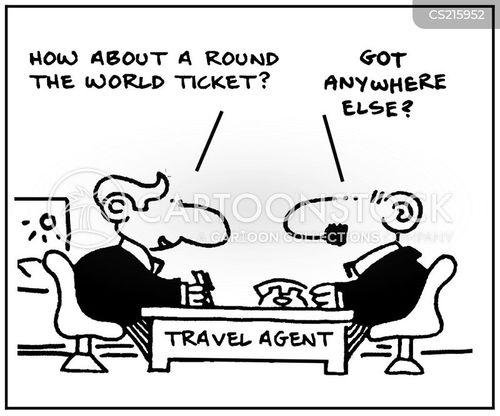 foreign travels cartoon