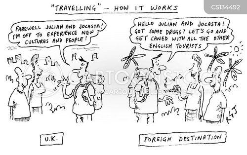doing drugs cartoon