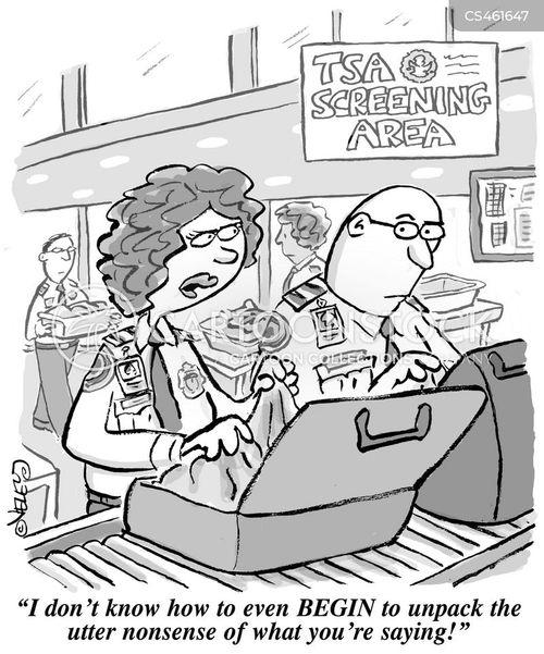 tsa agent cartoon