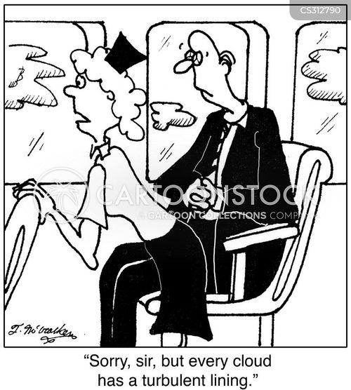 turbulence cartoon