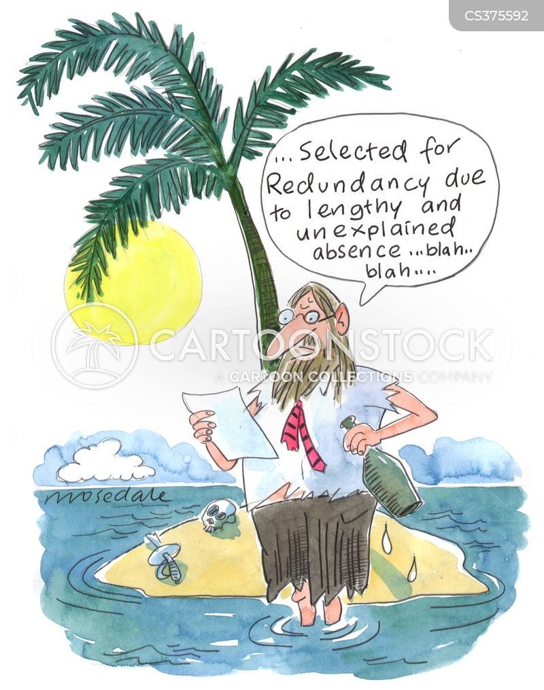 umemployment cartoon