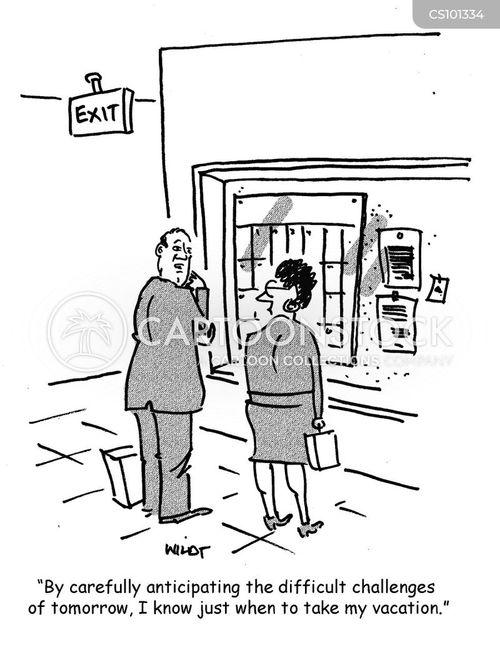 forward planners cartoon