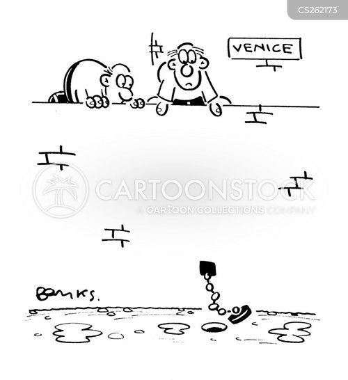 drained cartoon
