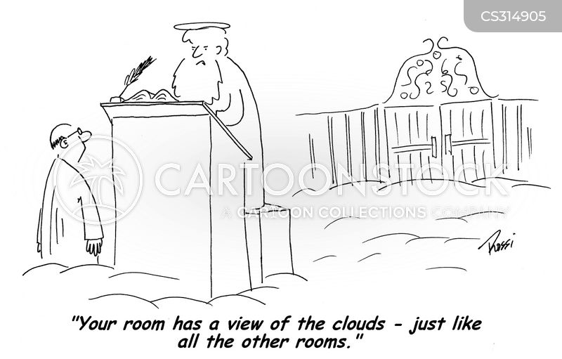 room with a view cartoon