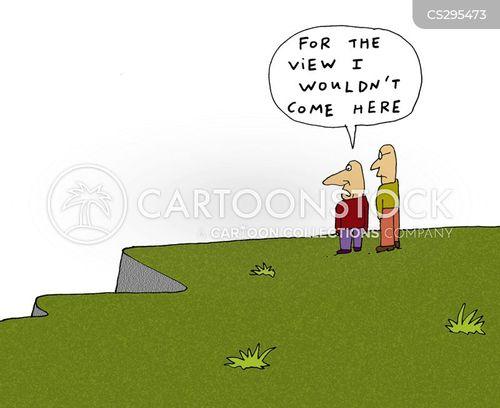 sea view cartoon