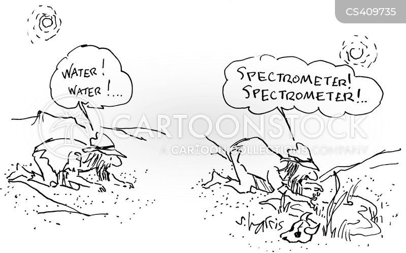 spectrographs cartoon