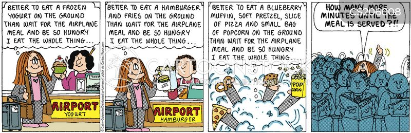 big eaters cartoon