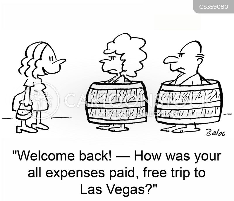 free trip cartoon
