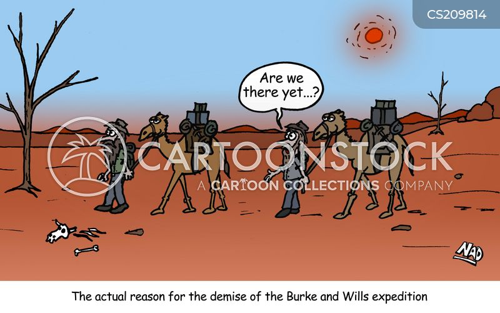 australian history cartoon