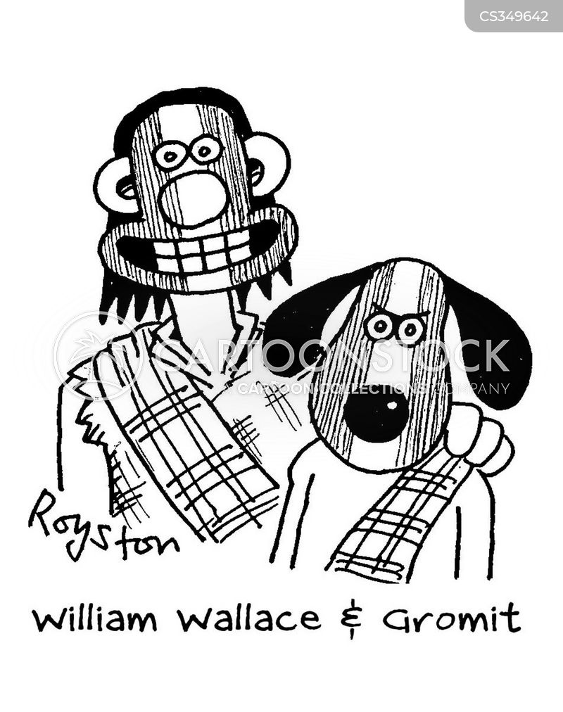 Wallace Cartoon, Wallace Cartoons, Wallace Bild, Wallace Bilder, Wallace Karikatur, Wallace Karikaturen, Wallace Illustration, Wallace Illustrationen, Wallace Witzzeichnung, Wallace Witzzeichnungen