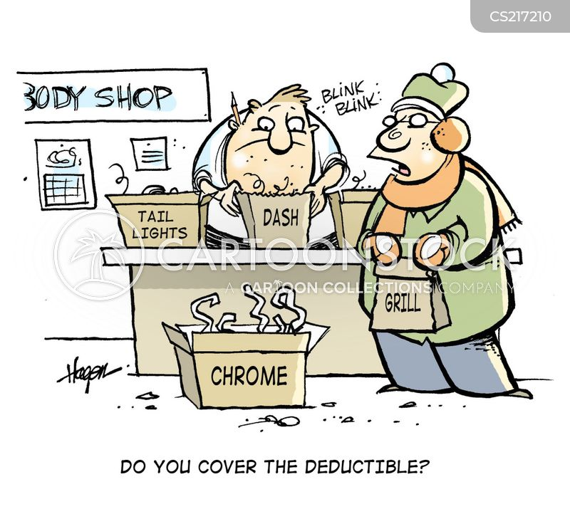 deductible cartoon