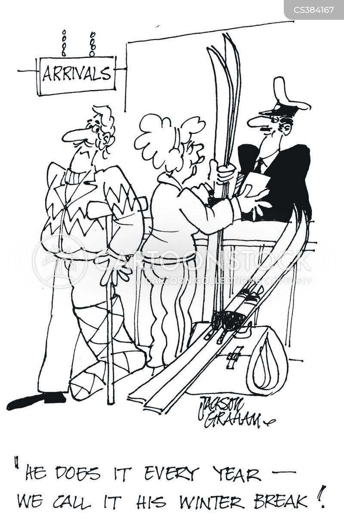 winter break cartoon