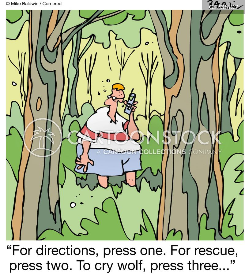 rescue services cartoon
