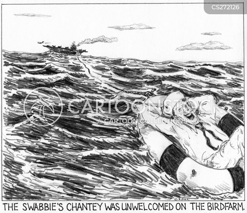 sea chanteys cartoon