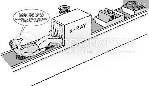 hand luggage cartoon