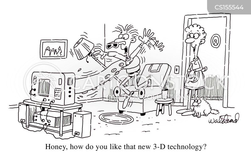 3d tv cartoon