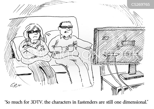3d television cartoon