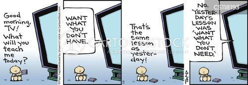 consumer societies cartoon