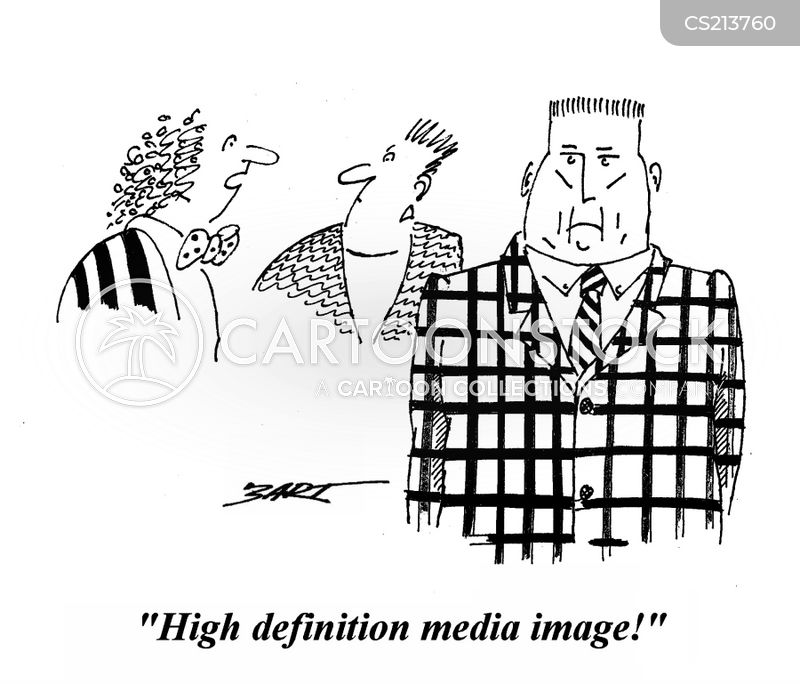 media image cartoon