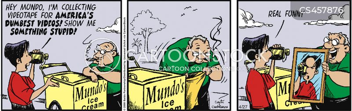 clip shows cartoon