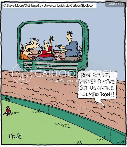 tv screens cartoon