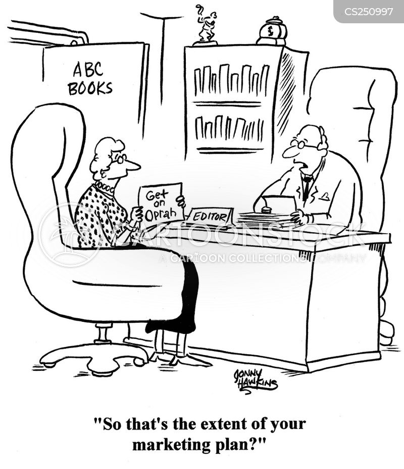 Book Marketing Cartoons And Comics Funny Pictures From