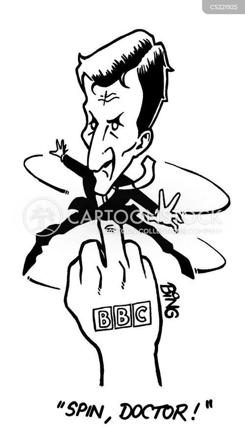british broadcasting corporation cartoon