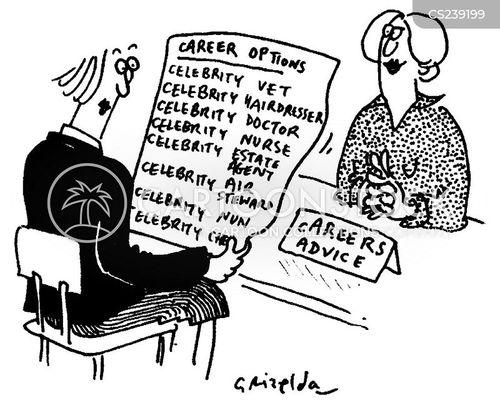careers service cartoon