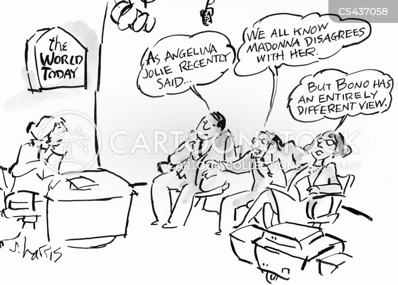 celebrity gossip cartoon