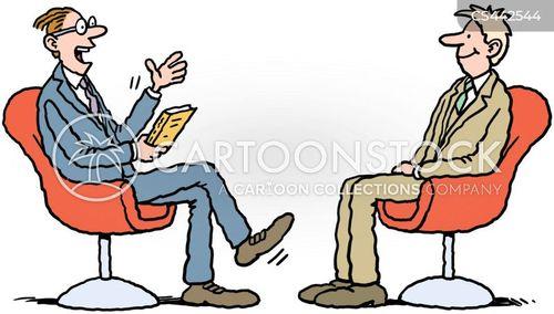 talk-shows cartoon