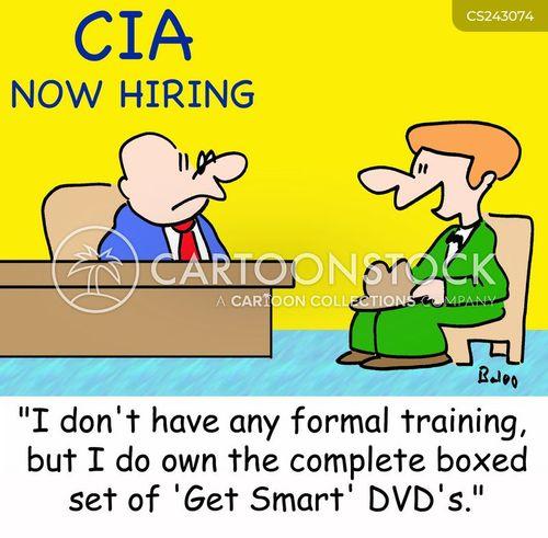 formal training cartoon