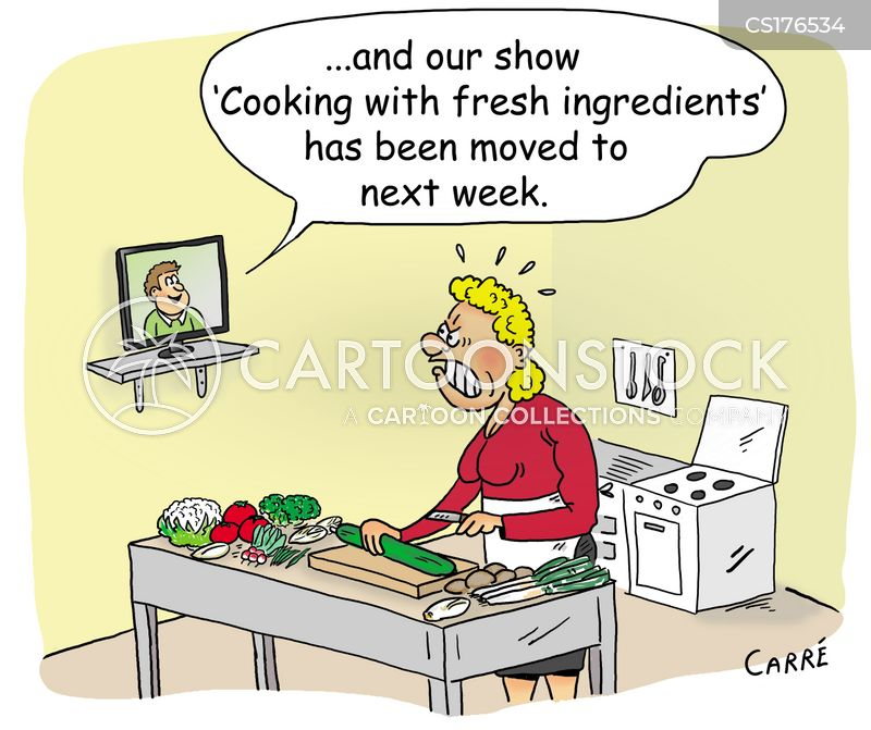 cooking tutorials cartoon