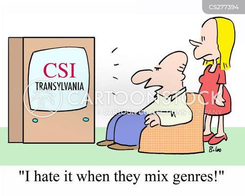 crime dramas cartoon