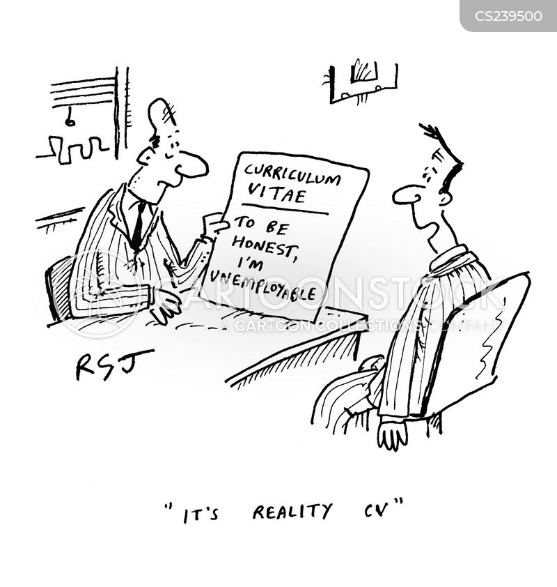 Reality Cv Cartoons And Comics Funny Pictures From
