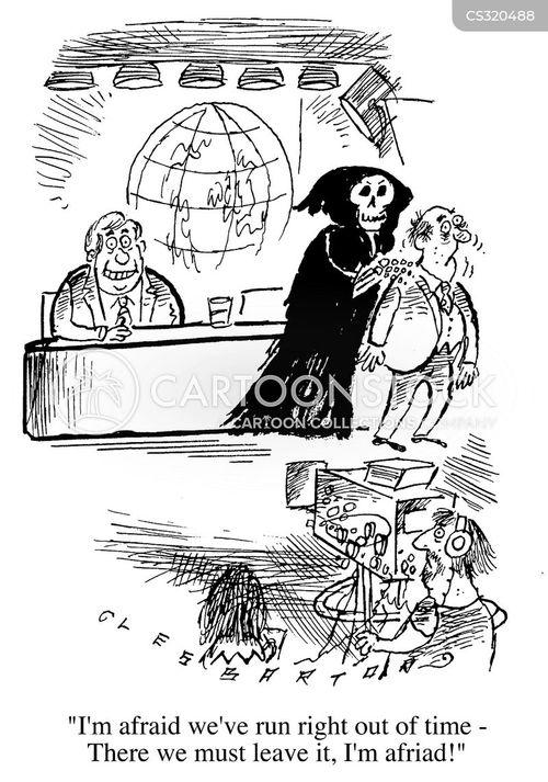 Interviewsthe Grim Reaper Cartoons and Comics - funny