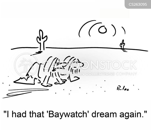 baywatch cartoon