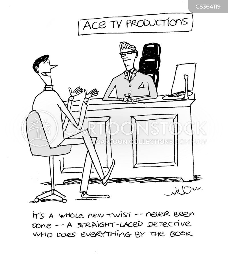detective show cartoon