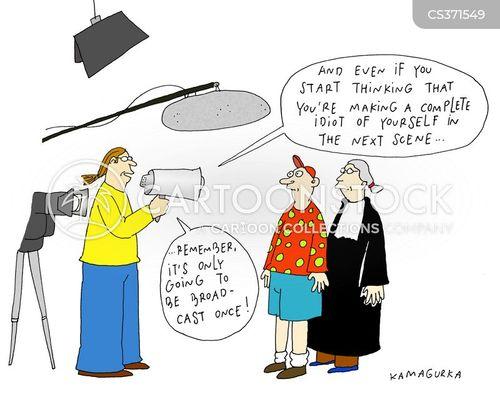 film scene cartoon
