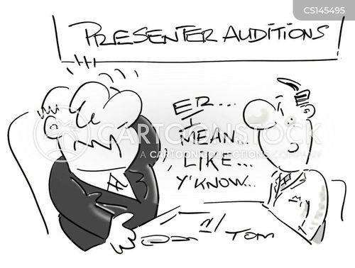 disk jockeys cartoon