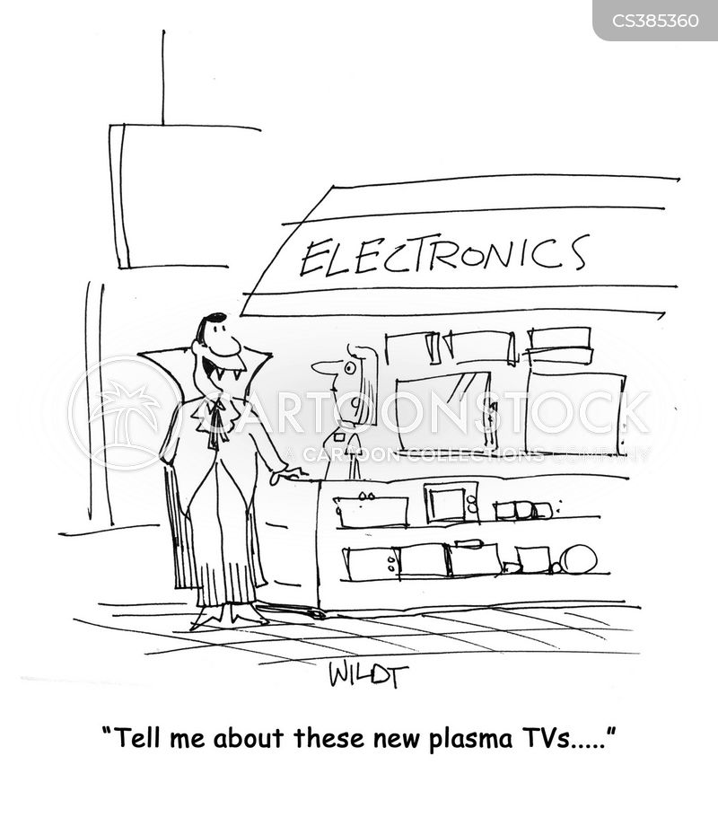 plamsa screen cartoon