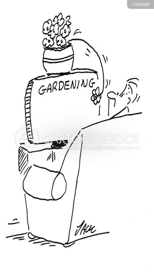 flowerpots cartoon