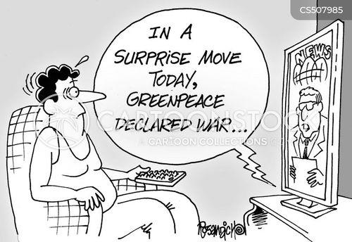 declaration of war cartoon